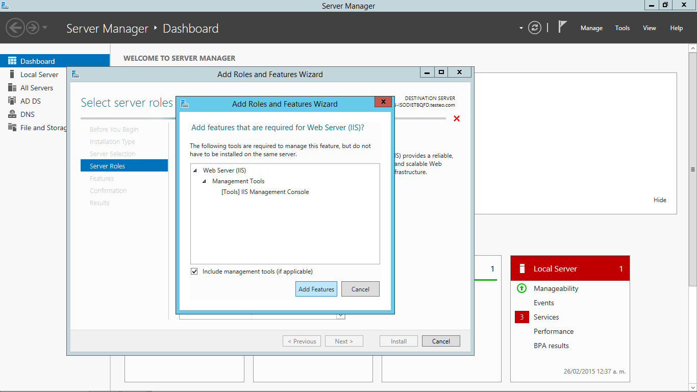 Configurar servidor web en IIS y hacer sitios web (en Windows ...